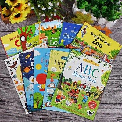 Самые необходимые, любимые - детские игрушки в наличии!  — Книжки с наклейками, раскраски — Детская литература
