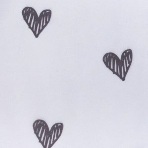 """Комплект тюля Этель """" Love is"""" 145х180см-2шт.. 100% п/э"""