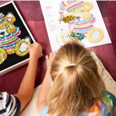 Самые необходимые, любимые - детские игрушки в наличии!  — Картины,мозаики из пайеток — Мозаики и фреска