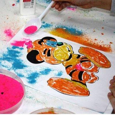 Самые необходимые, любимые - детские игрушки в наличии!  — Фрески, роспись песком — Мозаики и фреска