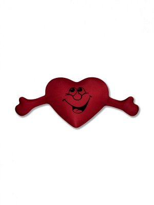 "Антистрессовая подушка ""Сердце с руками""(терракот)"