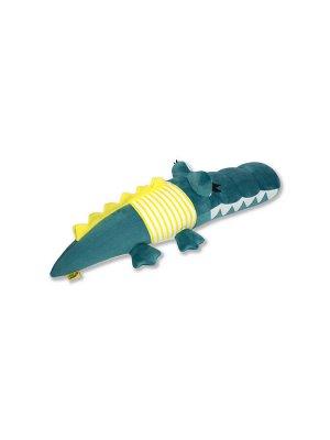 "Антистрессовая игрушка ""Крокодил Дил"" бол. желтый"
