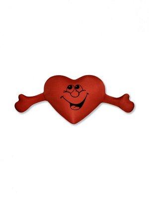 """Антистрессовая подушка """"Сердце с руками""""(красный)"""