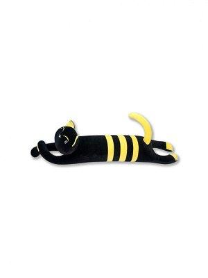 """Антистрессовая игрушка """"Черный Кот"""", желтый"""
