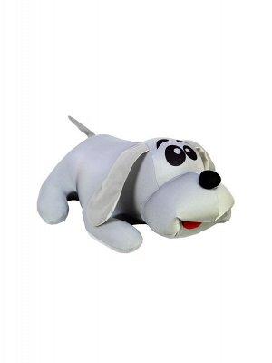 """Антистрессовая игрушка """"Собака Джой"""" малая (серый)"""