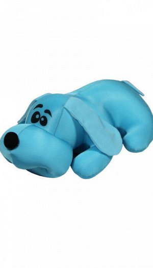 """Антистрессовая игрушка """"Собака Джой"""" малая (голубой)"""