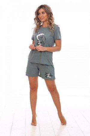 Пижама женская Луна(шорты)