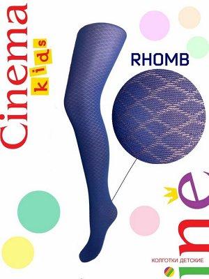 Колготки детские Cinema Rhomb 50 тёмно-синий