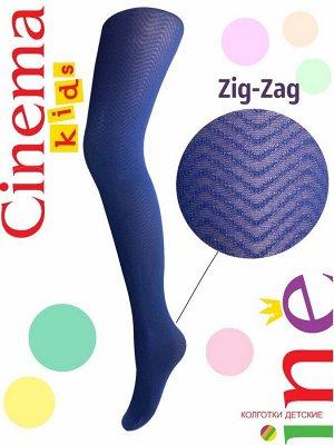 Колготки детские Zig-Zag 60 т. синий
