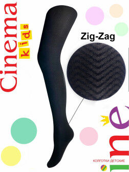 Колготки детские Zig-Zag 60 черный