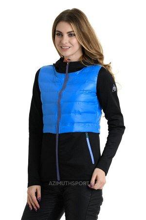 Женская куртка-ветровка Wimex O-F Blue