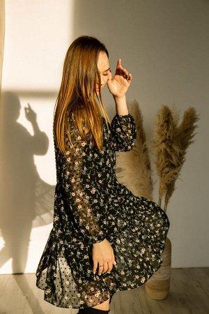 Платье Платье Pur Pur 01-850/4  Состав: ПЭ-100%; Сезон: Весна Рост: 170  Коллекция Pur Pur 2021.