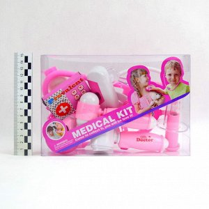 *Набор для девочек Доктора Medical kit (8предметов)(№HZ631-A)