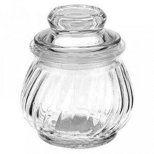 "Банка для специй стеклянная ""Винт"" 180мл, h8,8см, диаметр го"