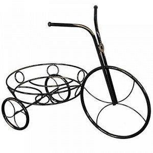 """Стойка для цветов """"Велосипед"""" 54х29х41см, на 1 горшок д25см."""