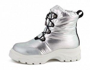 king boots Верх: Нейлон с водоотталкивающим слоем waterproof/Экокожа на мыске Подклад: Овечья шерсть 100% Стелька: Овечья шерсть 100% Подошва: ТПР Фиксация: Молния с фирменным логотипом сбоку//Шнуровк