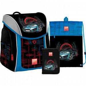 Набор рюкзак + пенал + сумка обуви WK 583 Racing