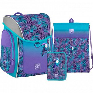 Набор рюкзак + пенал + сумка обуви WK 583 Tropic