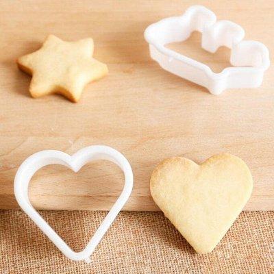 Украшение тортов, мастика-огромная закупка кондитеров — Вырубки для печенья — Выпечка