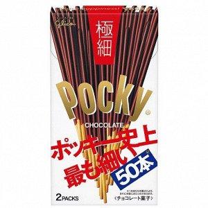 """Печенье GLICO """"Палочки POCKY в шоколаде"""" супер тонкие 75,4 гр"""