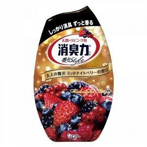 """Жидкий освежитель воздуха для комнаты """"SHOSHU-RIKI"""" (с ароматом спелых ягод) 400 мл"""