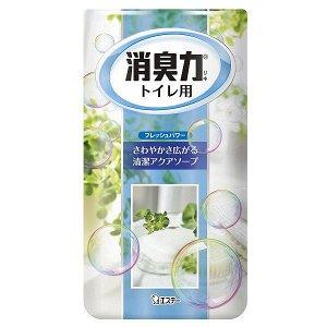 """Жидкий ароматизатор для туалета """"SHOSHURIKI"""" (Нежное мыло) 400 мл"""