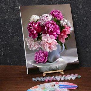 Картина по номерам на холсте с подрамником «Букет» 40х50 см