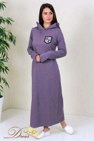 Платье «Лилия» серое