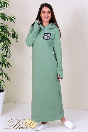 Платье «Лилия» оливка