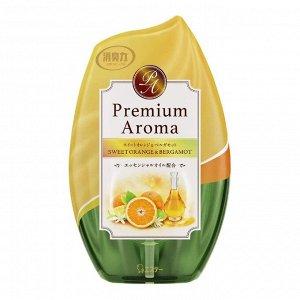 """Жидкий освежитель воздуха для комнаты """"SHOSHU-RIKI"""" (с освеж аром сладк апельс и бергам) 400 мл"""