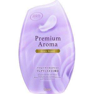 """Жидкий освежитель воздуха для комнаты """"SHOSHU-RIKI"""" (с освежающим ароматом цветов и цитрусов) 400 мл"""