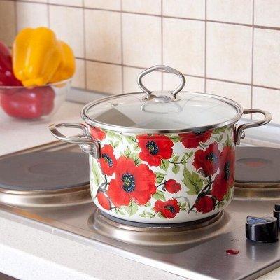 Большая распродажа посуды! Столько классных предложений! — Эмалированные кастрюли — Кастрюли