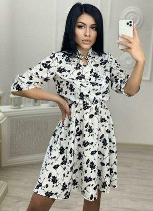 Платье Ткань Софт Длина 95см
