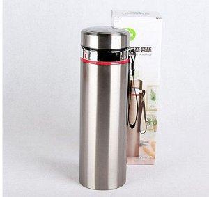 Термос Металлический термос для любителей горячих напитков собой. Колба металлическая. Объём 750мл
