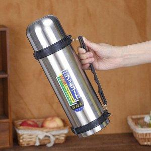 Термос Металлический термос для любителей горячих напитков собой. Колба металлическая. Объём 1500мл Цвет ручки может быть любой.