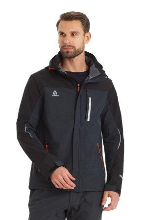 Мужская куртка-виндстоппер Azimuth A 8261_100 Темно-серый