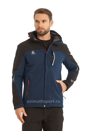 Мужская куртка-виндстоппер Azimuth A 8261_101 Темно-синий