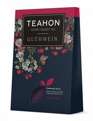 Глинтвейн вишневый, жидкий концентрат чайного напитка TEAHON, 170 мл