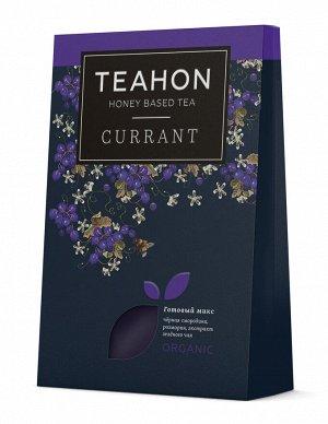 Черносмородиновый, жидкий концентрат чайного напитка TEAHON, 170 мл