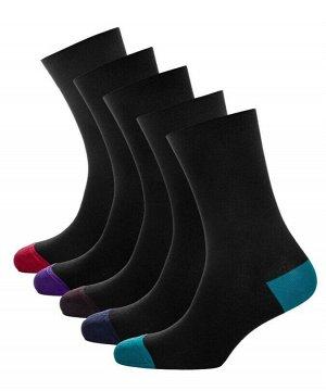Носки мужские пятки Classic * Набор из 5 пар