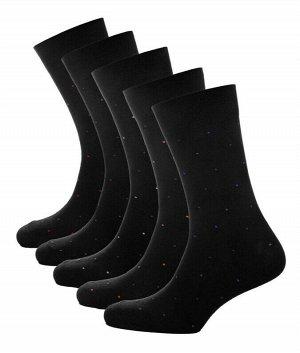 Носки мужские точки цветные Classic * Набор из 5 пар