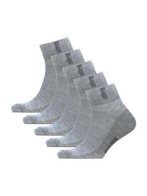 Носки мужские спорт сетка с лого Sport * Набор из 5 пар