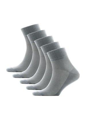 Носки мужские сетка средний паголенок Classic * Набор из 5 пар