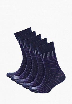 Носки мужские контрастная полоска Elit * Набор из 5 пар