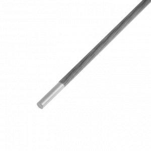Напильник TUNDRA, для заточки цепей пил, круглый, сталь У10, d = 4.8 мм, №3, 200 мм