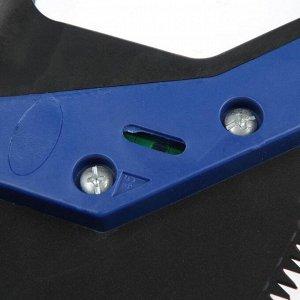 Ножовка по дереву TUNDRA, 2К рукоятка, тефлоновое покрытие, 3D заточка, 7-8 TPI, 500 мм