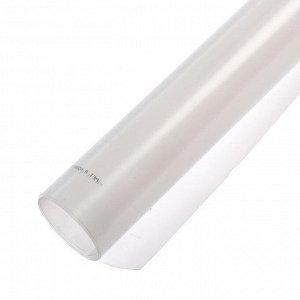 Лист ПЭТ-А, толщина 0,5 мм, 1,25 ? 2,05 м, прозрачный