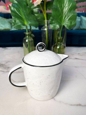 Заварочный чайник 750 мл, фарфор, окрашено вручную, в наличии
