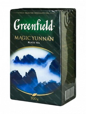 Чай Гринфилд Magic Yunnan black tea 200г 1/12, шт