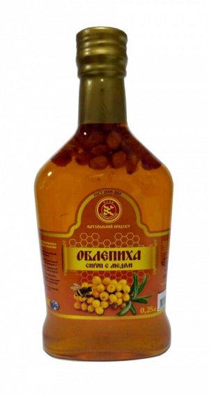 Сироп Облепиха с медом 0,25 л. стекло